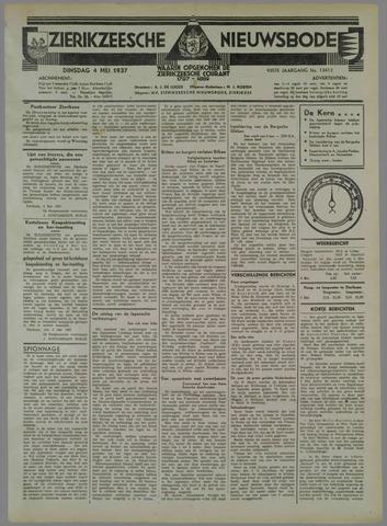 Zierikzeesche Nieuwsbode 1937-05-04