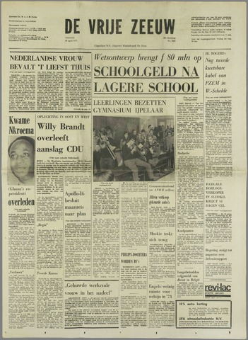 de Vrije Zeeuw 1972-04-28