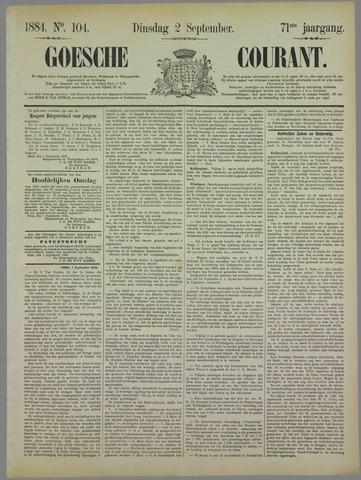Goessche Courant 1884-09-02