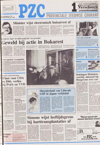 Provinciale Zeeuwse Courant 1990-02-19