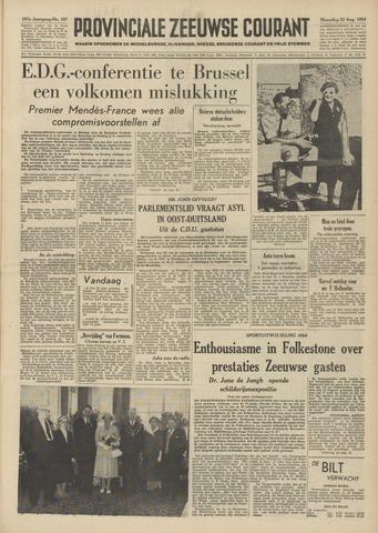 Provinciale Zeeuwse Courant 1954-08-23