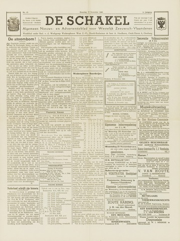 De Schakel 1945-11-19