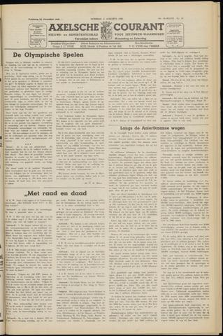 Axelsche Courant 1952-08-02