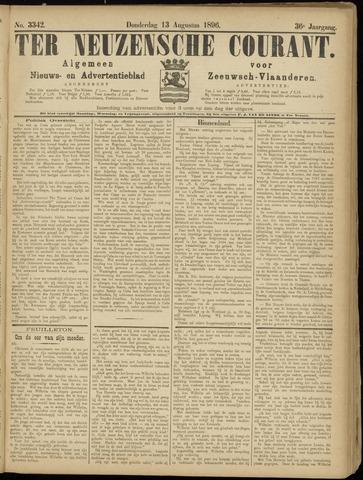 Ter Neuzensche Courant. Algemeen Nieuws- en Advertentieblad voor Zeeuwsch-Vlaanderen / Neuzensche Courant ... (idem) / (Algemeen) nieuws en advertentieblad voor Zeeuwsch-Vlaanderen 1896-08-13
