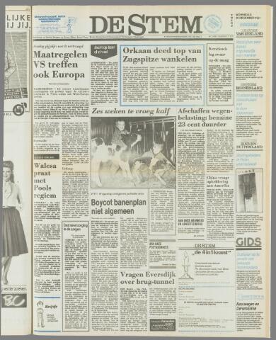 de Stem 1981-12-30