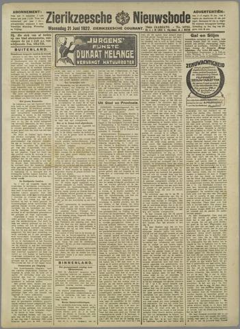 Zierikzeesche Nieuwsbode 1922-06-21