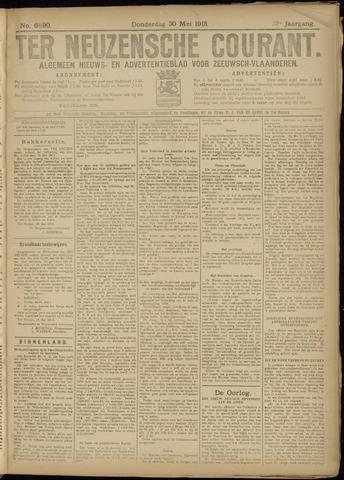 Ter Neuzensche Courant. Algemeen Nieuws- en Advertentieblad voor Zeeuwsch-Vlaanderen / Neuzensche Courant ... (idem) / (Algemeen) nieuws en advertentieblad voor Zeeuwsch-Vlaanderen 1918-05-30