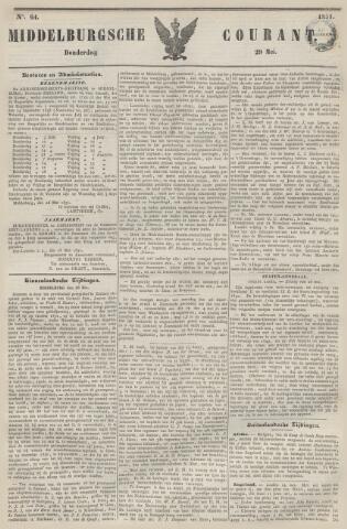 Middelburgsche Courant 1851-05-29