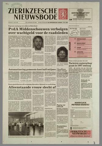 Zierikzeesche Nieuwsbode 1996-06-21