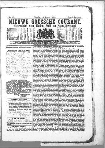 Nieuwe Goessche Courant 1872-10-15