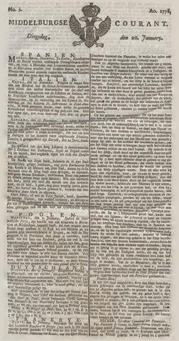Middelburgsche Courant 1778-01-20