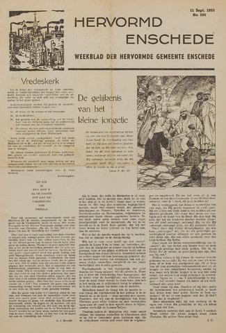 Watersnood documentatie 1953 - kranten 1953-09-11
