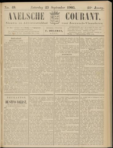 Axelsche Courant 1905-09-23