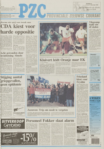 Provinciale Zeeuwse Courant 1995-12-14