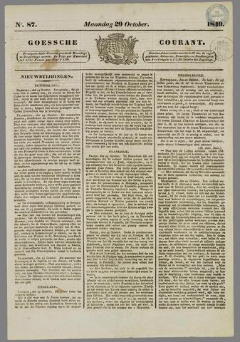 Goessche Courant 1849-10-29