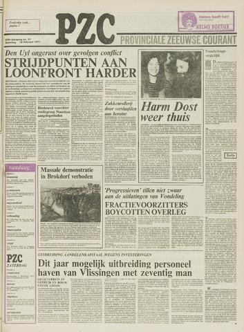 Provinciale Zeeuwse Courant 1977-02-19