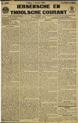 Ierseksche en Thoolsche Courant 1924