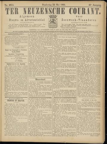 Ter Neuzensche Courant. Algemeen Nieuws- en Advertentieblad voor Zeeuwsch-Vlaanderen / Neuzensche Courant ... (idem) / (Algemeen) nieuws en advertentieblad voor Zeeuwsch-Vlaanderen 1901-05-23