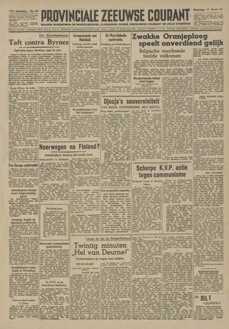 Provinciale Zeeuwse Courant 1948-03-15