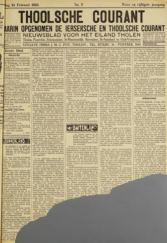 Ierseksche en Thoolsche Courant 1935-02-15