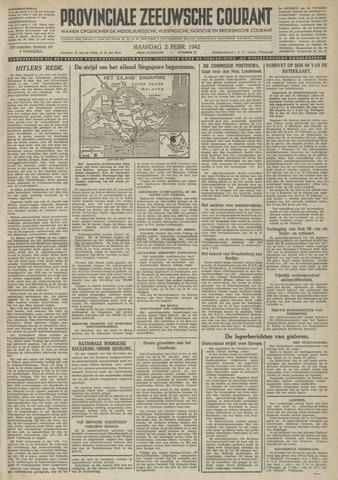 Provinciale Zeeuwse Courant 1942-02-02