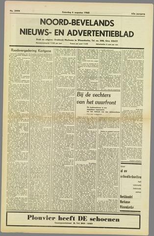 Noord-Bevelands Nieuws- en advertentieblad 1960-08-06