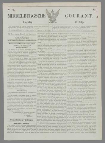 Middelburgsche Courant 1854-07-11