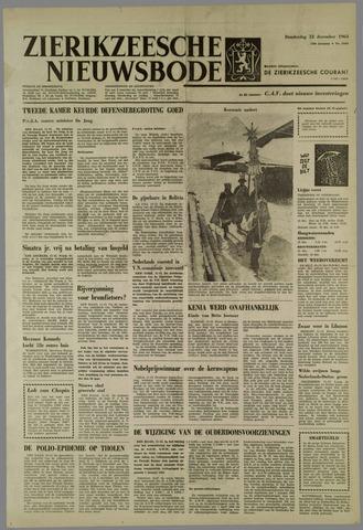 Zierikzeesche Nieuwsbode 1963-12-12