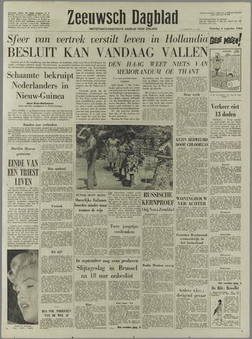 Zeeuwsch Dagblad 1962-08-06