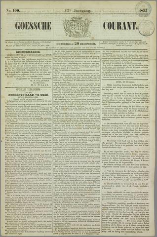 Goessche Courant 1855-12-20