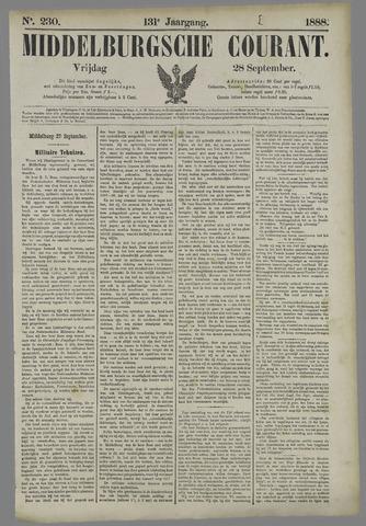 Middelburgsche Courant 1888-09-28