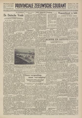 Provinciale Zeeuwse Courant 1946-11-02