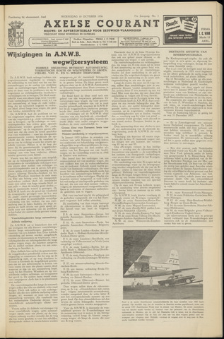 Axelsche Courant 1956-10-10