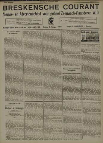 Breskensche Courant 1936-09-22