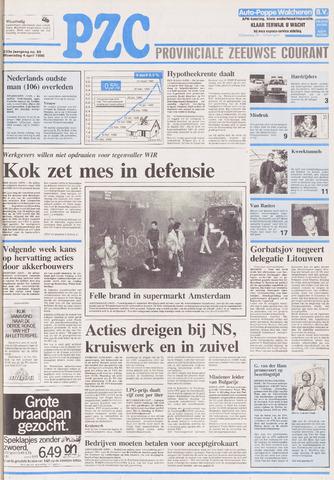 Provinciale Zeeuwse Courant 1990-04-04