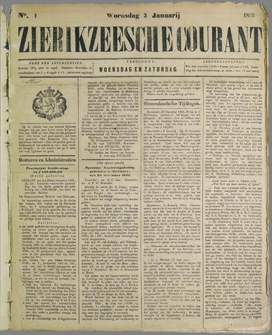 Zierikzeesche Courant 1866