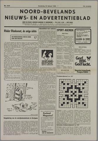 Noord-Bevelands Nieuws- en advertentieblad 1985-02-28