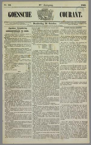 Goessche Courant 1861-10-31