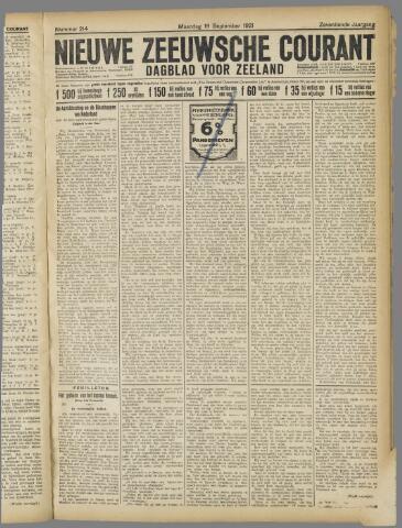 Nieuwe Zeeuwsche Courant 1921-09-19