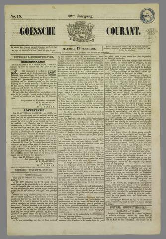 Goessche Courant 1855-02-19