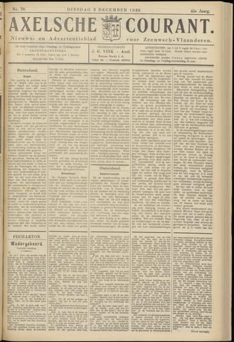 Axelsche Courant 1929-12-03