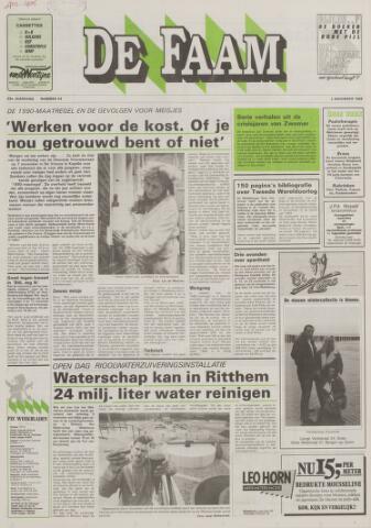 de Faam en de Faam/de Vlissinger 1988-11-02
