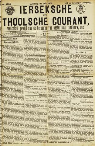 Ierseksche en Thoolsche Courant 1908-07-25