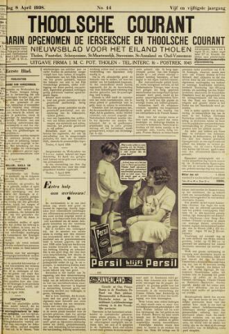 Ierseksche en Thoolsche Courant 1938-04-08