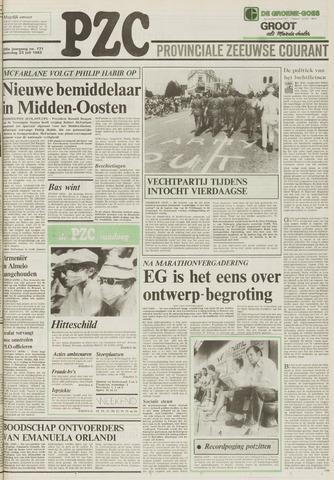 Provinciale Zeeuwse Courant 1983-07-23