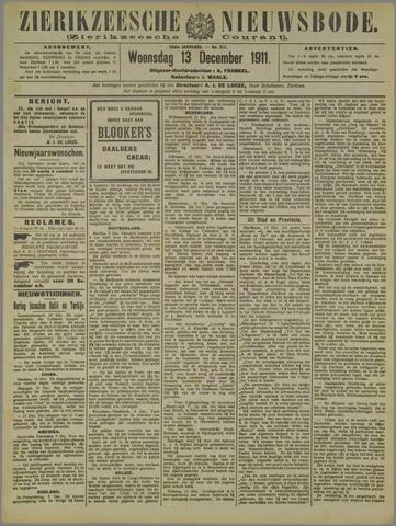 Zierikzeesche Nieuwsbode 1911-12-13