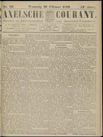 Axelsche Courant 1919-02-26