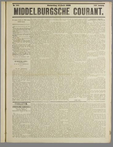 Middelburgsche Courant 1925-07-11