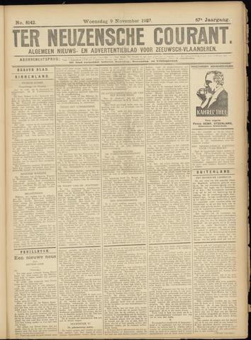 Ter Neuzensche Courant. Algemeen Nieuws- en Advertentieblad voor Zeeuwsch-Vlaanderen / Neuzensche Courant ... (idem) / (Algemeen) nieuws en advertentieblad voor Zeeuwsch-Vlaanderen 1927-11-09