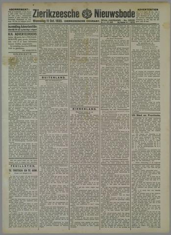 Zierikzeesche Nieuwsbode 1933-10-11